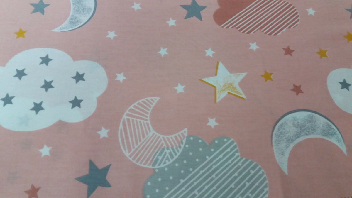 """Бебешки спални комплекти """" звездички"""""""