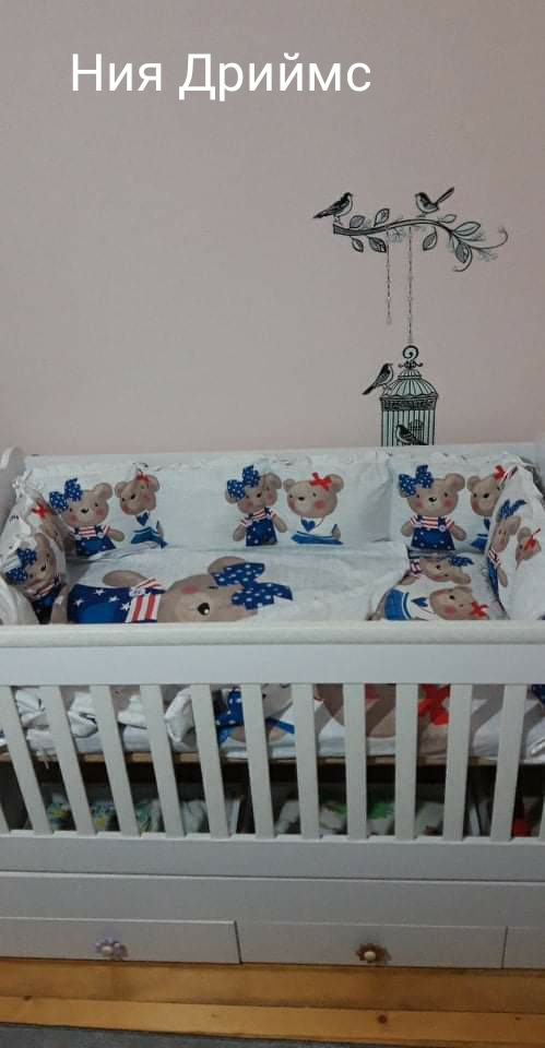 """ЛУКС бебешки спални комплекти """"Теди"""""""