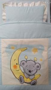 Спален комплект за количка- Луна- 3 части