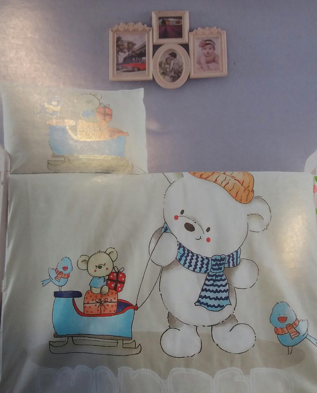"ЛУКС бебешки спални комплекти ""Зима"""
