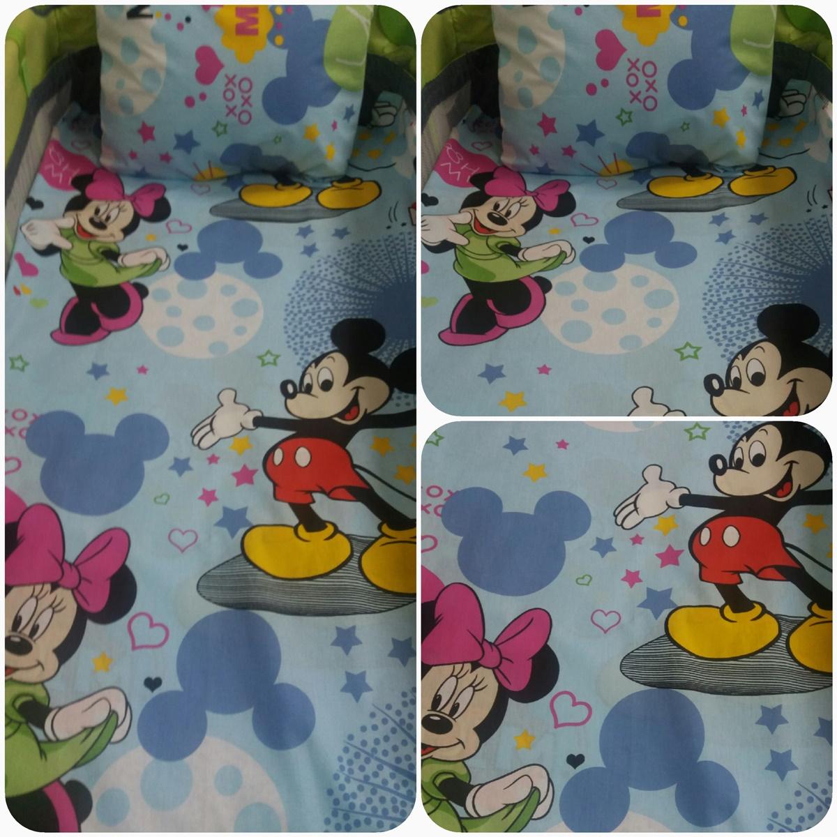 """спален комплект """"Мики и Мини Маус"""""""